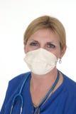 sjuksköterska för 4 doktor Arkivbild
