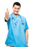 Sjuksköterska för medicinsk doktor Arkivbild