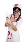 Sjuksköterska i uppgift Arkivfoton