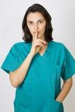 sjuksköterskabarn Royaltyfri Foto