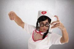 Sjuksköterskabullfighter Royaltyfria Foton