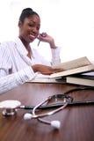 sjuksköterskadeltagare Fotografering för Bildbyråer