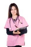 sjuksköterskaleende Royaltyfri Foto