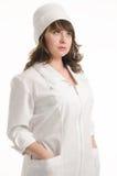 sjuksköterskastående Arkivfoto