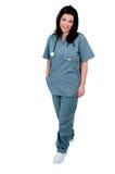 sjuksköterskastanding Royaltyfri Fotografi