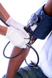 sjuksköterskatålmodig Royaltyfri Fotografi