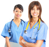 sjuksköterskor Arkivfoto
