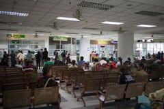 Sjukt folk i sjukhuset Maharaj Nakorn Chiang Mai Arkivfoto