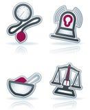 sjukvård vektor illustrationer