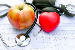 Sjukvård och sund living Arkivfoton