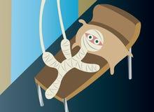 Sjukvårdskador royaltyfri illustrationer