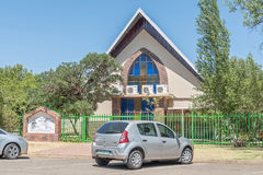 Sjunde dagadventistkyrka i Universitas i Bloemfontein Arkivbild