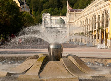 sjunga för springbrunnlaznemarianske Royaltyfria Foton