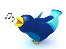 sjunga för fågel Arkivfoto