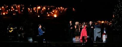 sjungande smed w för kristen michael musik Smed Jimi Westbrook, Kimberly Schlapman, Karen Fairchild, Phillip Sweet arkivfoto