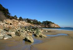 Sjungande strand Royaltyfri Bild