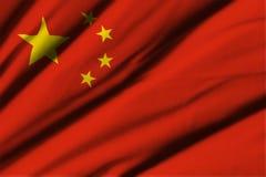 Sjunka av Kina Arkivbild