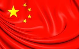 Sjunka av Kina stock illustrationer