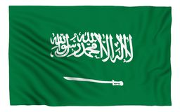 Sjunka av Saudiarabien Arkivfoton