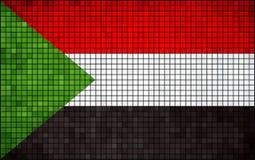 Sjunka av Sudan royaltyfri illustrationer