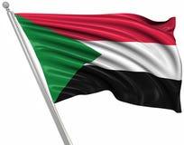 Sjunka av Sudan vektor illustrationer