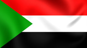 Sjunka av Sudan stock illustrationer
