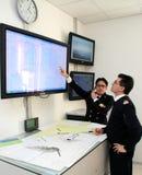 sjunka för räddningsaktion för kryssning för kommandoconcordiacosta Royaltyfri Foto