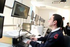 sjunka för räddningsaktion för kryssning för kommandoconcordiacosta Arkivfoto