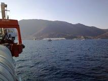 sjunka för ship för concordiacostakryssning Arkivfoto