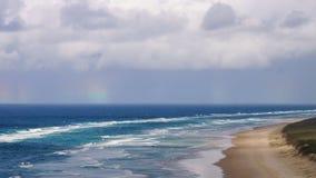 Sjuttiofem milstrand Fraser Island royaltyfri foto