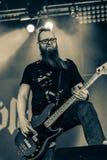 Skálmöld  Hellfest 2016 folk metal band Royalty Free Stock Photos