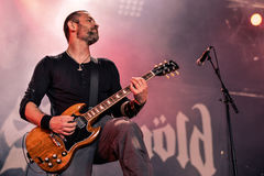 Skálmöld  Hellfest 2016 folk metal band Royalty Free Stock Image