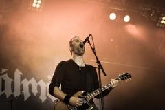 Skálmöld  Hellfest 2016 folk metal band Royalty Free Stock Photography
