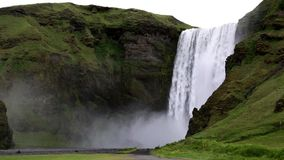 Skó gafoss Waterval stock footage
