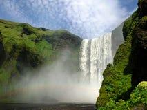 Skó gafoss waterval IJsland Royalty-vrije Stock Foto