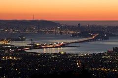 Skälla område San Francisco Fotografering för Bildbyråer