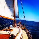 skälla seglingen Royaltyfri Foto
