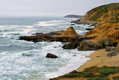 skälla sonomaen för den bodegaKalifornien kusten Fotografering för Bildbyråer