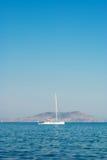 skälla yachten Royaltyfri Bild