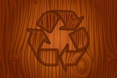 skällsymbol som återanvänder vektorn Royaltyfri Illustrationer