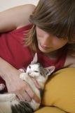 skämtsam kattunge 4 royaltyfri bild