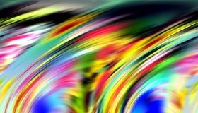 Skämtsamma linjer bakgrund i färgrika toner, abstrakt bakgrund, fantasi royaltyfria foton