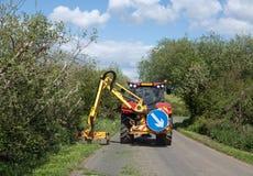 Skärare för gräskant i Sussex Royaltyfri Bild