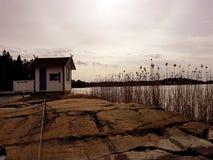 Skärgårdstuga Fotografering för Bildbyråer