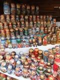 Skärm av hand-gjorda souvenir Fotografering för Bildbyråer