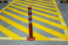 Skärm av parkeringsförbud Arkivfoto
