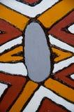 Infödd Aboriginal konst Arkivbild