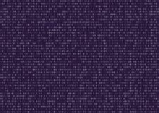 Skärm för binär kod Arkivfoton