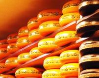 Skärm för holländsk ost royaltyfria bilder