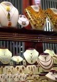 Skärm för smyckenlager Royaltyfria Foton